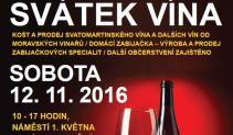 Svatek vina 2016